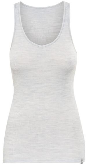 Icebreaker Butter Rib - Sous-vêtement - gris/blanc